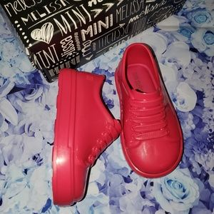 new in box mini melissa shoes toddler 5